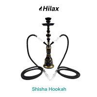 【送料無料】 水タバコ シーシャ 本体 フーカ Shisha Hookah セット ブラック 本体 水パイプ Hilax