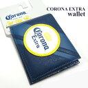 コロナエクストラ ウォレット / アメリカ直輸入 二つ折り財布 コロナビール カードケース パスケース
