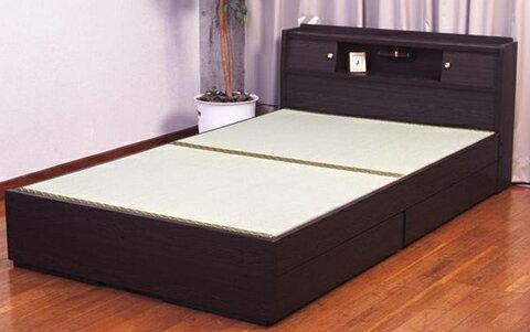 日本製畳ベッドの決定版セミダブル:送料無料ベッド ベット タタミベッド たたみ 和風
