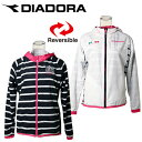 ディアドラ(DIADORA) テニスウェア(レディース) リバーシブルフードジャケットTL4191