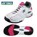 【沖縄県内送料無料】ヨネックス(YONEX) テニスシューズ オムニ・クレー用(メンズ・レディース) パワークッション 102(WH/PI) SHT102-181