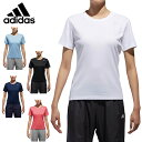 【沖縄県内(離島含)3,240円以上購入で送料無料】アディダス Tシャツ レディース D2Mトレーニング定番ロゴワンポイント半袖Tシャツ EUD14 adidas