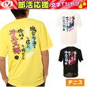 【沖縄県内送料無料】ビジョンクエスト (VISION QUEST) 部活応援【テニス】 文字入り半袖Tシャツ メッセージTシャツ メンズ 「テニス部」Tシャツ