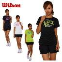 ウィルソン(wilson) テニス 半袖Tシャツ(レディース) BEAR Tシャツ(W)14SU WRJ4871