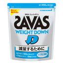 ザバス ZAVAS サプリメント プロテイン ウェイトダウン ヨーグルト風味 1050g(50食分) CZ7047