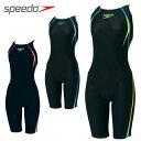 スピード SPEEDOFINAマーク付 競泳水着  レディースFina承認モデルウイメンズショートジョンSD40H3SF