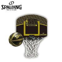 スポルディング SPALDINGバスケットボール ゴールNBA ハイライト マイクロミニバックボード77-587Zの画像