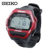 【基本送料無料 9/1(木)9:59まで】セイコー ( SEIKO ) ランニング 腕時計 ( メンズ レディース ) スーパーランナーズ(RD/BK) SBDF041