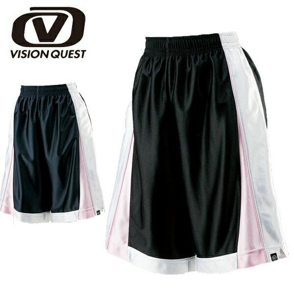 バスケットボールウェア レディース バスケット切替パンツ VQ570406D04 VISION QUEST ビジョンクエスト