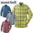 ショッピングモンベル 【ポイント5倍 6/1 1:59まで】モンベル(mont-bell) トレッキングウェア WIC.ライト シングルポケット ロングスリーブシャツ Men's 1104945