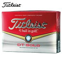 タイトリスト Titleistゴルフボール メンズ・レディスDT SOLODTソロ2014年1ダース 12個入り