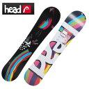 ヘッド(HEAD) ウインタースポーツ フリースタイルボード レディース PEARL FLOCKA Hスノーボード板