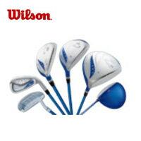 【初心者向け】ウィルソン(wilson) Tiara LS Aセット (BL-L) ゴルフクラブ セット(レディース)