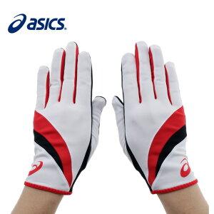【9/18 20:00〜23:59 エントリーでポイント最大12倍】アシックス asicsランニング 手袋 メンズ レディースパイルレーシンググローブWHXTG220 01
