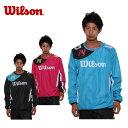 【D10倍 P7倍 G5倍 12/8 1:59まで】ウィルソン(wilson) テニス ウィンドアップ (メンズ) プルオーバー14FW WRJ4822