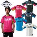 VLUCK ブラック フットサルウェア サッカーウェア プラクティスシャツ 半そで 半袖 サッカーシャツ ゲームシャツ 練習用 ウェア ウエア シャツ