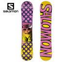 サロモン salomonスノーボード板 ジュニアGRACE グレース