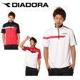 ディアドラ(DIADORA) ジップポロシャツ TG4383 テニス 半袖シャツ(メンズ)