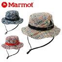 マーモット MarmotMadras Check HatMJH-S5366トレッキング 帽子 ハット メンズ レディース