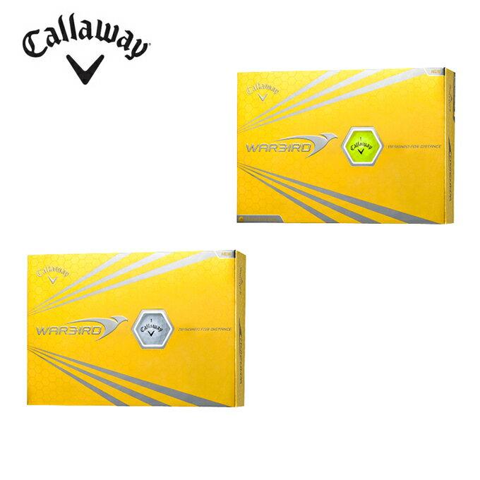 キャロウェイ(Callaway)ゴルフボールWARBIRD ウォーバード1ダース(12個入り)