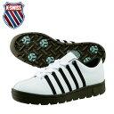 ケースイス K-SWISSゴルフシューズ スパイクレス 靴 メンズクラシックタイプ51840463