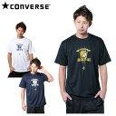 コンバース CONVERSE半袖プリントTシャツCBD251321バスケットボール ウェア メンズ