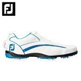 【2015年モデル】 フットジョイ(Foot Joy) EXL Boa(WH/BL) 45215 ゴルフ スパイク(メンズ) 【GLPS】