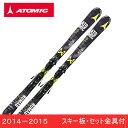アトミック ATOMICスキー板 セット金具付SMOKE TI ARC + XTO12