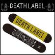 【基本送料無料 9/1(木)9:59まで】デスレーベル(DEATH LABEL) スノーボード板 MEN IN BLACK 【15-16 2016モデル】