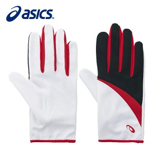 【9/18 20:00〜23:59 エントリーでポイント最大12倍】アシックスASICSパイルレーシンググローブXTG222 01ランニンググローブ手袋