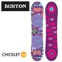 【2015‐16モデル】バートン BURTONスノーボード板 キッズジュニアボードCHICKLETチクレット