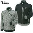 ディズニー ( Disney ) ゴルフ スウェット ( メンズ ) ラウンドカットJKT 5432-9866