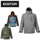 【全品ポイント5倍以上 1/7 20:00〜1/12 1:59】バートン(BURTON) Covert Jacket 13065101 ウインターウェア スノーボードジャケット(メンズ)【BUCL】