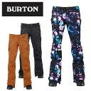 バートン(BURTON) Women's TWC Hot Shot Pant 15026100 ウインターウェア スノーボードパンツ(レディース)【BUCL】