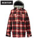 【ポイント5倍 2/17 10:00〜2/20 9:59】 バートン BURTONBoys' Uproar Jacket TRUE BLACK10047102ウ...