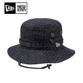 ニューエラアウトドア(NEW ERA OUTDOOR) Adventure Denim Herringbone 11166192 トレッキング ハット 帽子(メンズ)