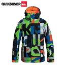 クイックシルバー ( QUIKSILVER ) PRINTED YOUTH JACKET EQBTJ03002 BRQ1 ジュニアスノーボードジャケット【15-...