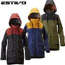 エスティボ(ESTIVO)スノーボードウェア ジャケット レディースEV HUNTER JKT(EVW1523)