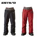 エスティボ ESTIVOスノーボードウェア パンツ レディースEV RUNWAY PNTEVW3522