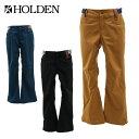 ホールデン(HOLDEN) スノーボードパンツ(メンズ) STANDARD PT