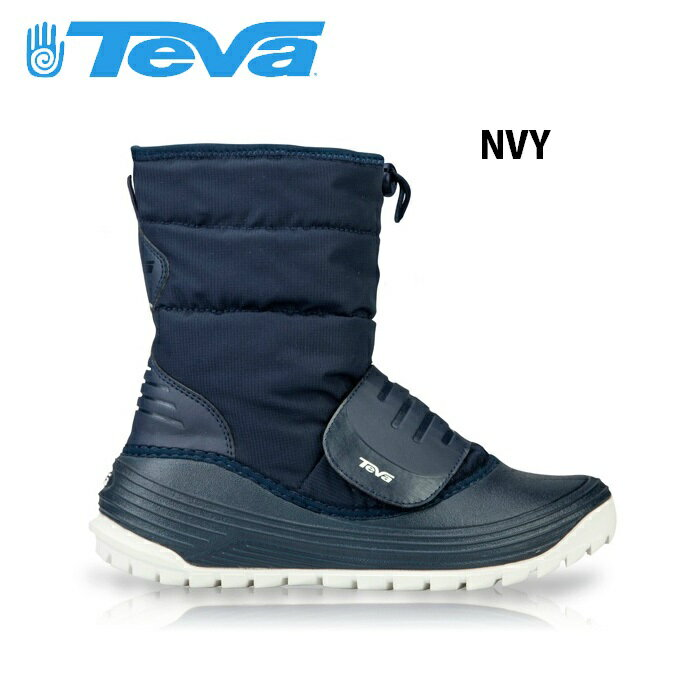 【店内全品基本送料無料 12/3 18:00まで】テバ ( TEVA ) スノーブーツ・冬靴 ( メンズ ・ レディース ) ベロブーツ? 1010141-NVY