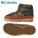 コロンビア Columbiaスノーブーツ スノトレ スノーシューズ ブーツ 冬靴 ユニセックススピンリールチャッカYU3599 316