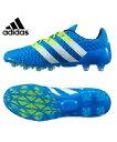 アディダス(adidas) サッカースパイク(メンズ) エース 16.2-ジャパン HG(BL/YL/WH) AF5122【16SSAD】 【16SADC】