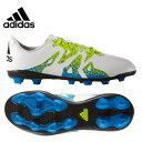 【D10倍 P7倍 G5倍 12/8 1:59まで】アディダス(adidas) サッカースパイク(ジュニア) エックス 15.4 AI1 J(WH/YL/BK) IUS21 【16SSAD】 【16SADC】
