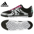 アディダス(adidas) サッカートレーニングシューズ 紐タイプ(ジュニア) エックス15.3 TF J ジュニア 人工芝用(BK/ミント/WH) S78187【AD16SS】 【16SSAD】