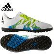 アディダス(adidas) サッカートレーニングシューズ 紐タイプ(ジュニア) エックス 15.4 TF J(WH/YL/BK) IUS25 【16SSAD】 【16SADC】