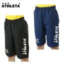 アスレタ ATHLETAサッカー フットサル プラクティスパンツ ジュニア16SS JRクロスハーフパンツAT-449J
