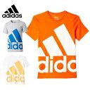 アディダス adidasジュニアウェアエッセンシャルズ スーパービッグロゴ TシャツJOZ61