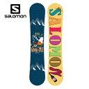 サロモン salomon レディース スノーボード板 HGO 【15-16 2016モデル】