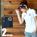 オプスト(OPST) ゴルフウェア(レディース) ワッフルワッペン半袖シャツ OP220301F03 【2016年春夏モデル】